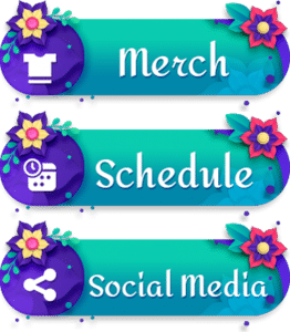 Spring Vibe Twitch Stream Panels Info Stream Floral