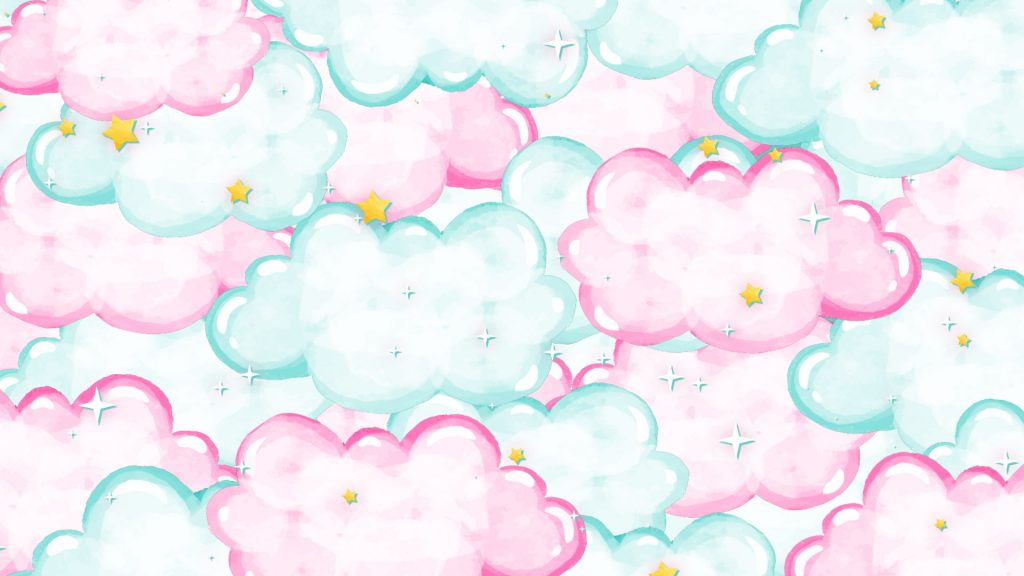 Dreamy Clouds Animated Stinger Transition Dexpixel Pink And Blue Pastel